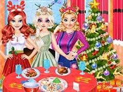 الأميرة الكمال اعداد حفل الكريسماس