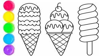 Dondurma Resmi Boyama Letkov