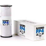 3 X Ilford FP4 Plus, Black and White Print Film, 120 (6 cm), ISO 125 (1678169)