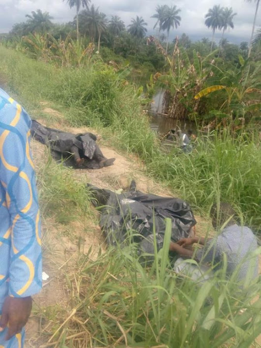 Bishop's Corpse And Others Recovered After Bus Fell Into A River (Photos)