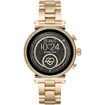 Michael Kors - Access Sofie Heart Rate Smartwatch 41mm Stainless Steel - Gold-Tone Stainless Steel