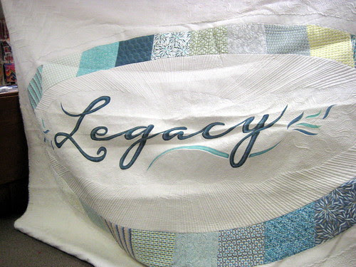 Legacy Quilt - Angela Walters