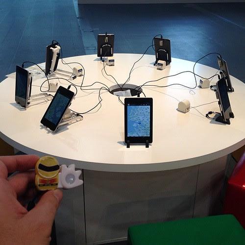 Nexus7でGoogleマップが体験できます。