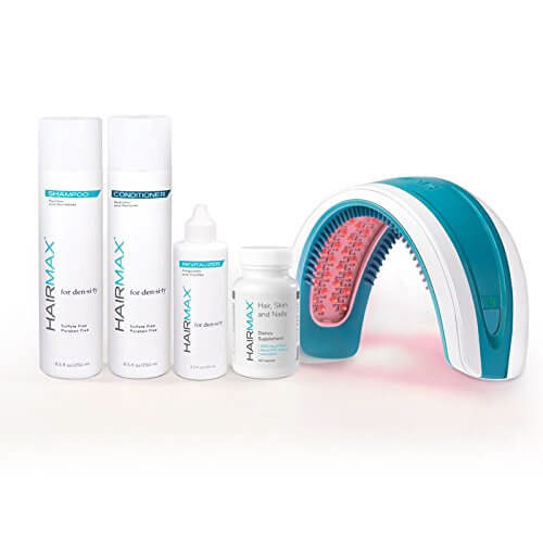 HairMax LaserBand 82 Hair Care Bundle - The Ultimate Home Use Hair Growth Laser Device