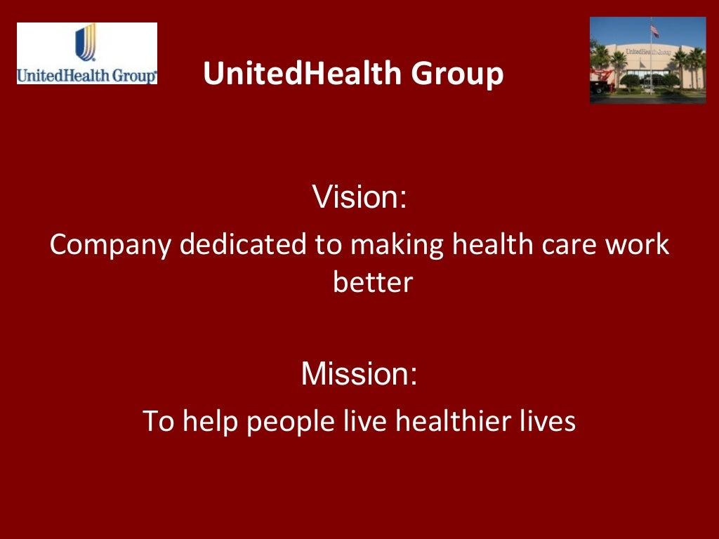 UnitedHealth Group Vision: Company dedicated