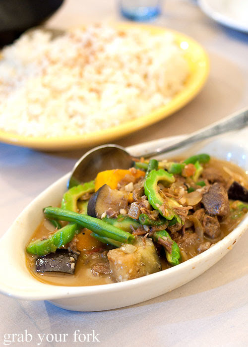pinakbet at lamesa phillipine cuisine haymarket chinatown