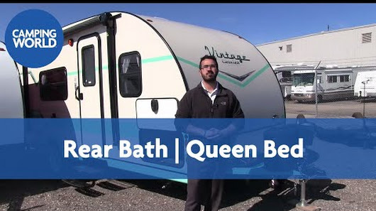 Elegant 2018 Vintage Cruiser 19RBS RV Review  Travel Trailer  Turquois  Ian