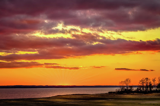 Majestic Sundown by Barry Jones
