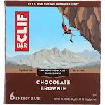 Clif: Bar Chocolate Brownie 6 Pc, 14.4 Oz