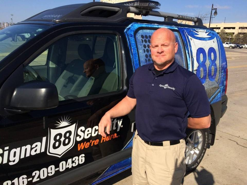 Kris Withrow and his wife, Traci, have operated a Signal 88 Security franchise since 2009. The Wichita franchise recently was named franchise of the year by the company.