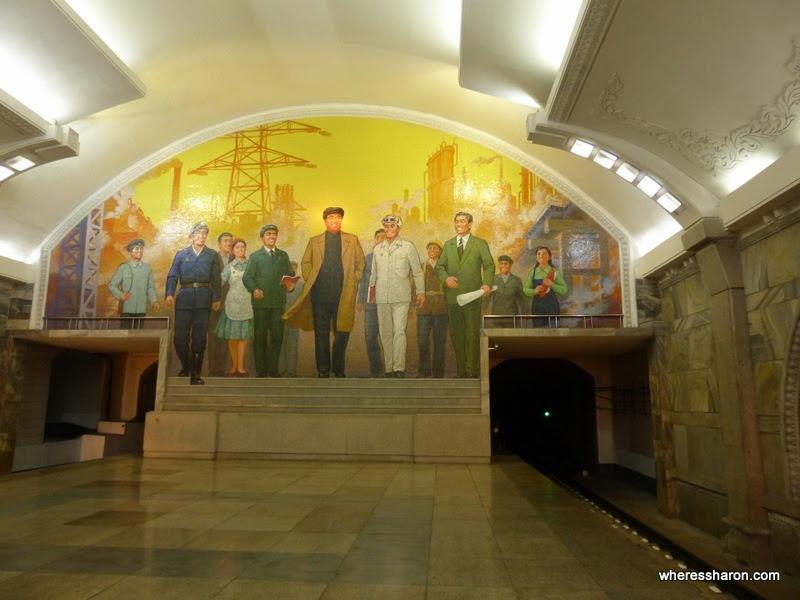 metro station pyongyang