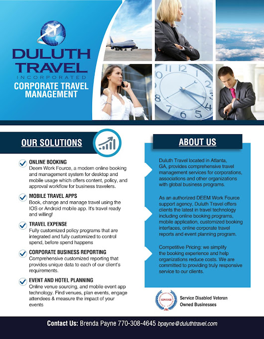 Corporate Travel Solutions - Duluth Travel