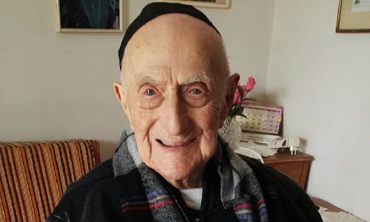 Oldest living man confirmed as Israeli Auschwitz survivor | World news | The Guardian