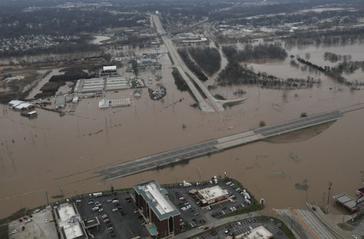 Recent St Louis flooding made worse by human changes to landscape