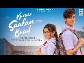 KINNE SAALAN BAAD - Goldie Sohel - Music Video - Song Lyrics