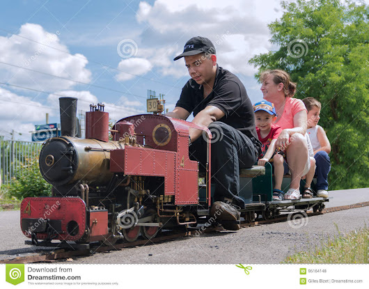 Large Miniature Steam Train