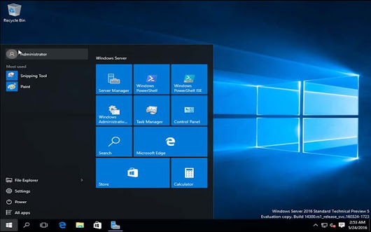 Windows Server 2016 ISO download - PC RIVER