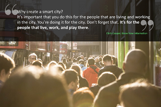 Humanizing smart cities - it's all about citizens - SNMPcenter
