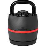 Bowflex SelectTech 840 Adjustable Kettlebell 8 to 40 Pounds 6 Weight Settings, Size: Large, Black
