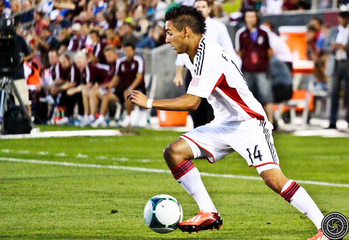 Diego Fagundez (Revolution), New England Revolution vs. Colorado Rapids July 17th 2013 by Corbin Elliott Photography