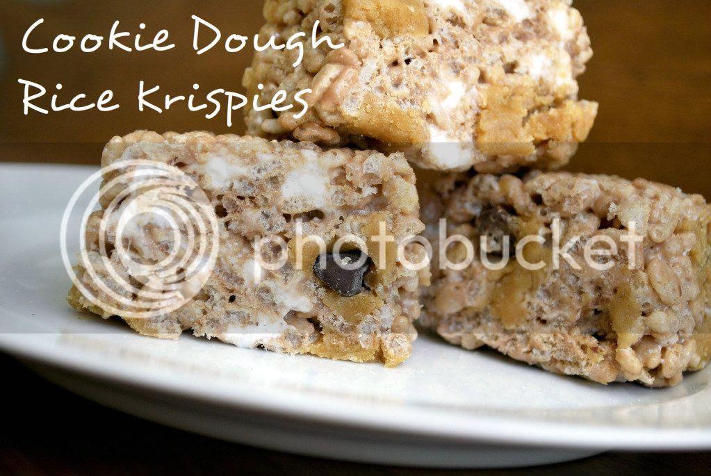 Cookie Dough Rice Krispies