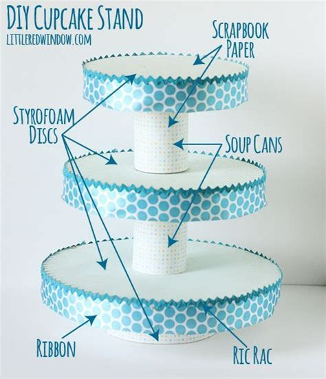 DIY Cupcake Stand   Cupcake stands, Cake and Birthdays