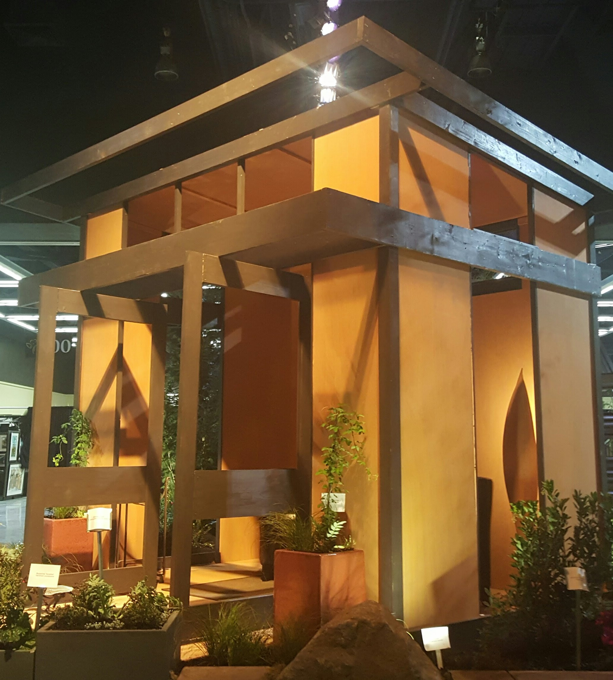 Booth Displays Ideas Non Warping Patented Wooden Pivot Door