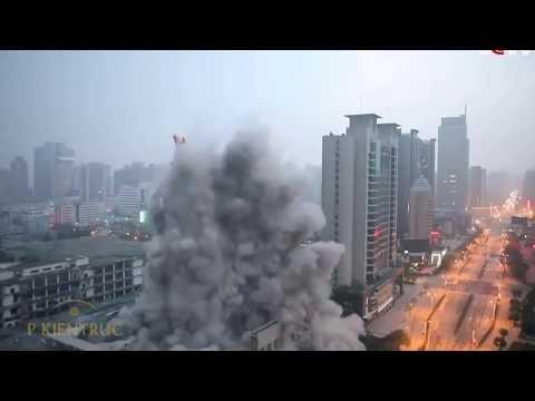 Video cảnh phá hủy các tòa nhà trong nháy mắt