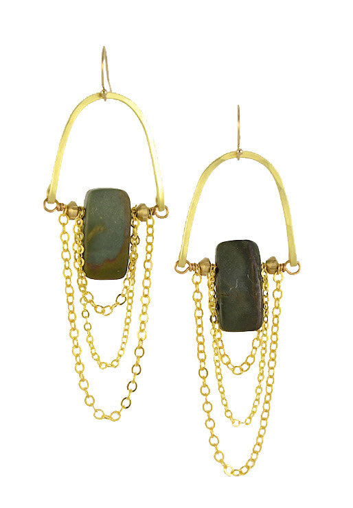 """Jasper"" - Gold Brass... Rise Collection by Sonia Lub"