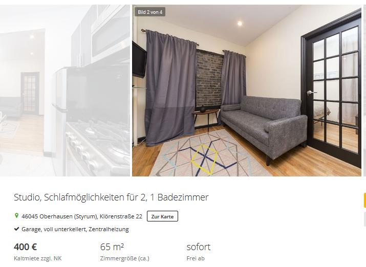 Wohnungen In Oberhausen Styrum