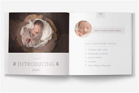 Baby Album Template PSD ~ Magazine Templates ~ Creative Market