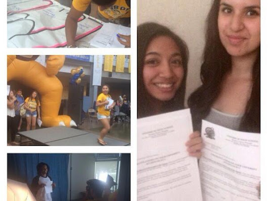 Inderkum Seniors Celebrate College Acceptance Letters