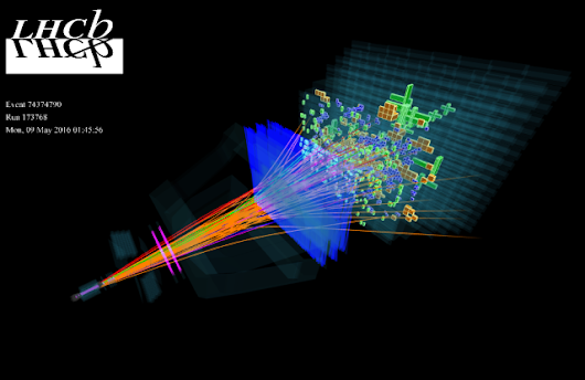 Large Hadron Collider Discovers 5 New Gluelike Particles - Universe Today