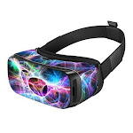 DecalGirl SGVR-STATIC Samsung Gear VR Skin - Static Discharge