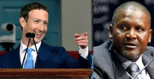 Mark Zuckerberg Loses More Than Dangote's Networth In 2 Hours