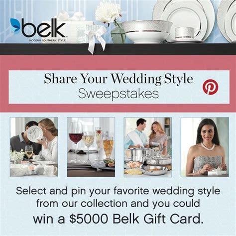 Belk Gift Registry Wedding