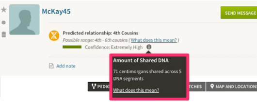 Behind The New AncestryDNA Feature: Amount of Shared DNA - Tech Roots