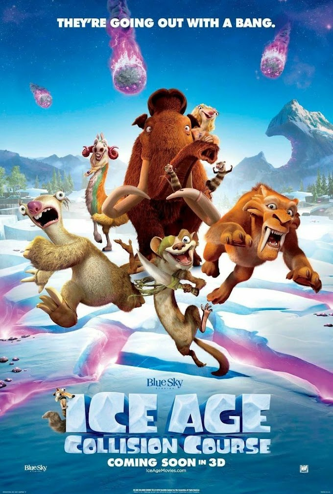 Ice Age: Collison Course (2016) 480p | 720p | 1080p BluRay Dual Audio (Hindi+English) Full Movie