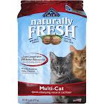 Blue Buffalo Naturally Fresh Quick-Clumping Natural Cat Litter, Multi-Cat - 26 lb bag