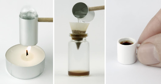 How to Make the World's Smallest Cup of Coffee