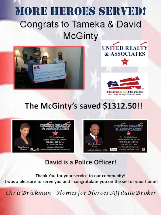 Congrats to Tameka & David McGinty | United Realty & Associates