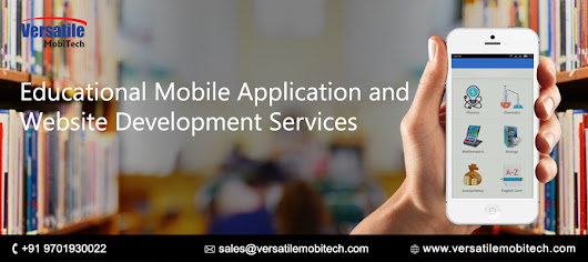Best educational mobile application and website development services