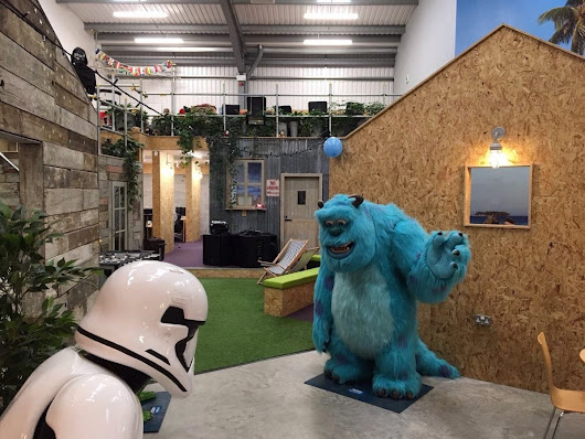 Can a kooky office design benefit your staff?