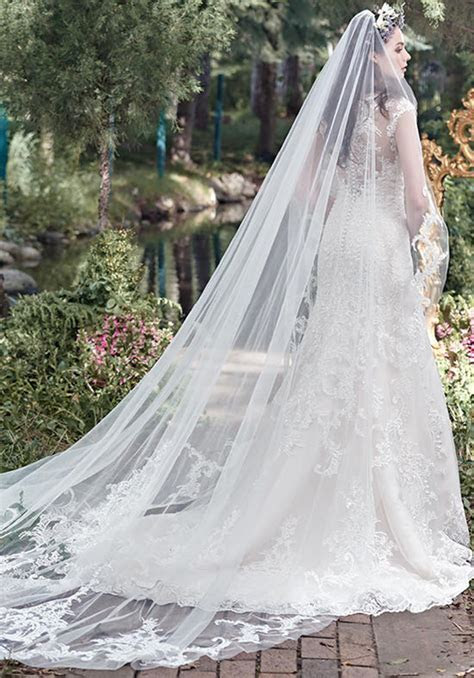 Your guide for choosing best wedding dress veil ? What