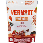 Vermont Smoke and Cure Minis Beef Sticks BBQ Seasoned 6 Stick(s)