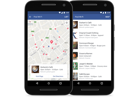 Facebook's new feature means you'll never be without free Wi-Fi again