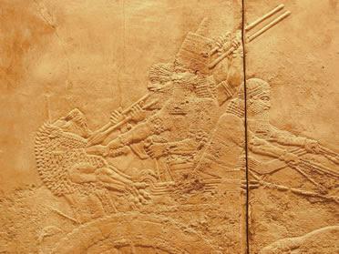 Escena en Nimrud