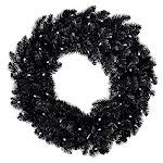 "Hallmark Keepsake Christmas Ornament Black Lights 30"" Star Galaxy Wreath"