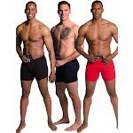 Stashitware Stash Pocket Boxer Brief Variety 3 Packs Men's Black, Blue, Red