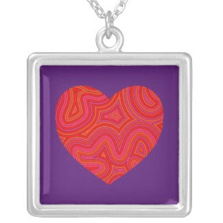 Groovy Heart Necklace necklace